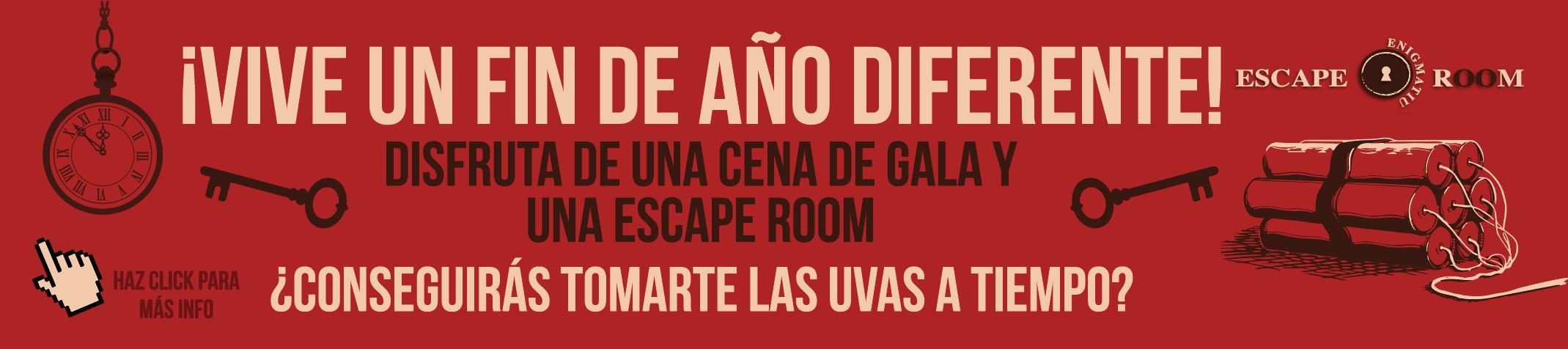 Cena de Fin de año en Madrid enigmatium